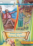 Sinbad the Sailor & Ali Baba & Forty Thieves [Graphic Novel] - The Real Book Shop