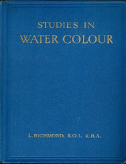 Studies in Water Colour by L Richmond [Collectible] - The Real Book Shop
