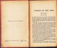 Tarzan of the Apes by Edgar Rice Burroughs SECOND EDITION [1918] - The Real Book Shop