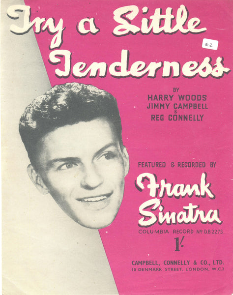 Try a Little Tenderness by Harry Woods, Jimmy Campbell & Reg Connelly SHEET MUSIC
