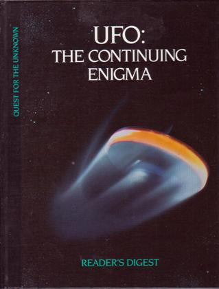 UFO: The Continuing Enigma (Quest for the Unknown) [used-like new] - The Real Book Shop