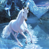 Unicorn Greeting Card with Relaxing Music CD