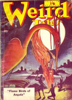 "Weird Tales July 1951 ""Flame Birds of Angala"" and other tales by e Everett Evans et al [used-good] - The Real Book Shop"
