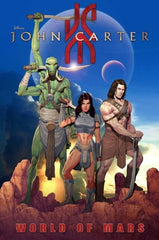 John Carter : World of Mars by peter David and Lke Ross - The Real Book Shop