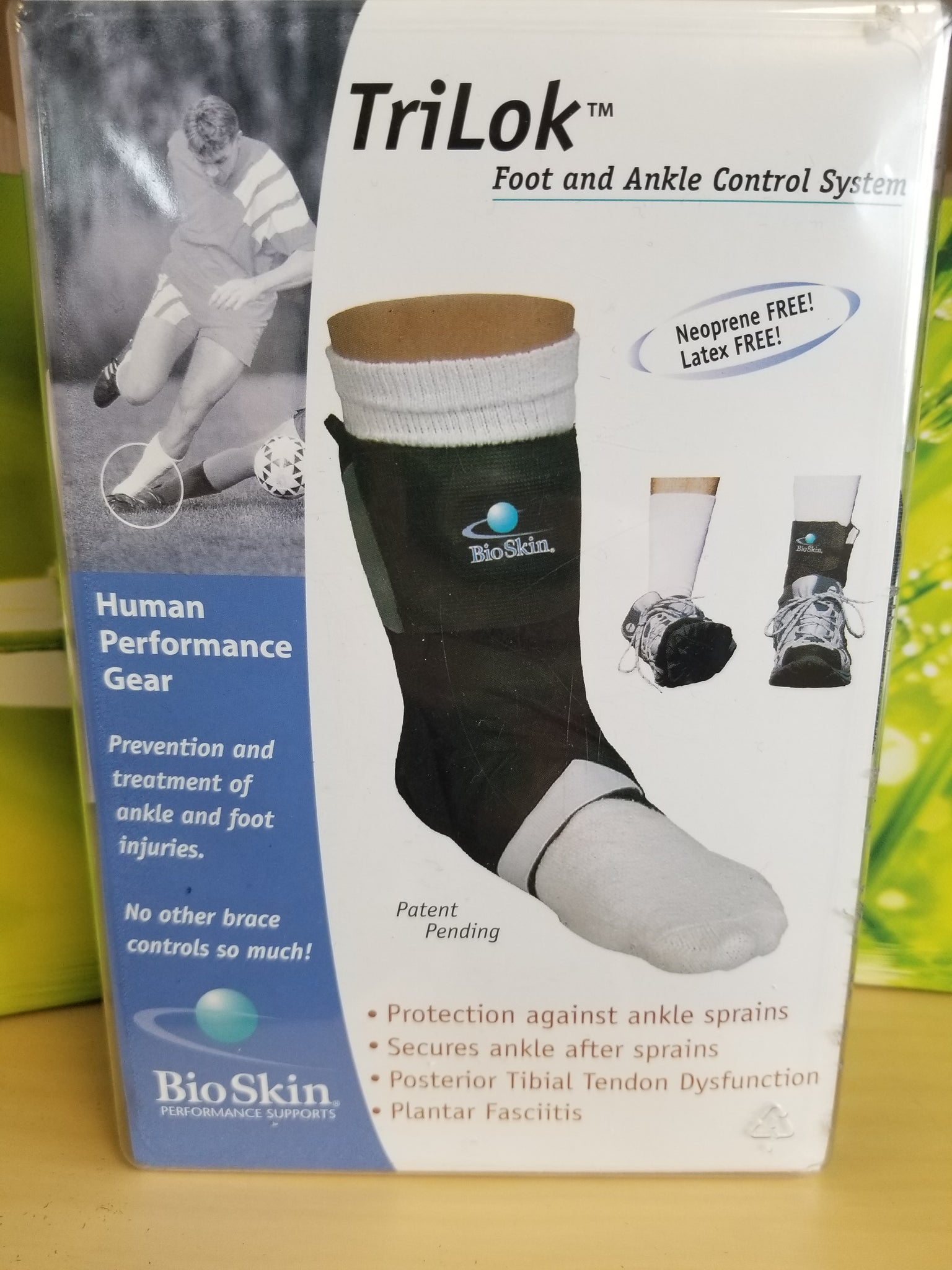 TriLok Foot and Ankle Control System