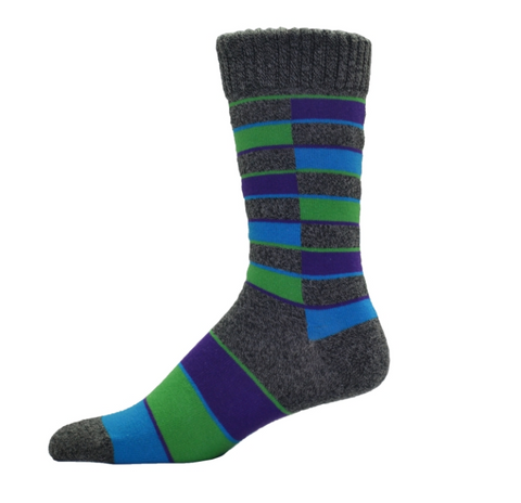 Simcan Colour Series Socks - Blue/Green/Purple