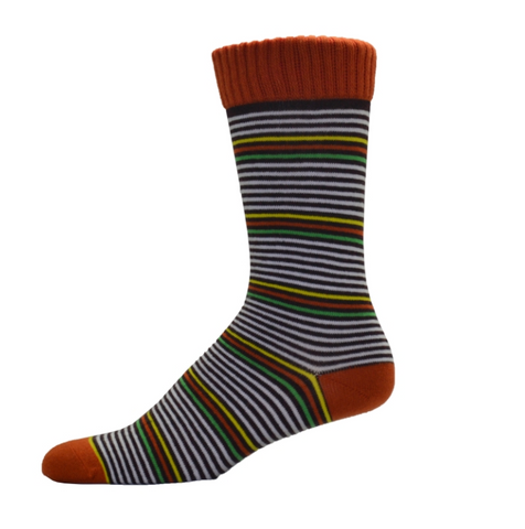 Simcan Colour Series Socks - Orange/Green/Yellow