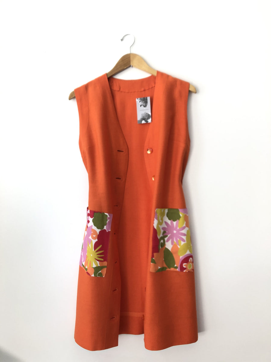 1960s Mod Shift Dress or Duster