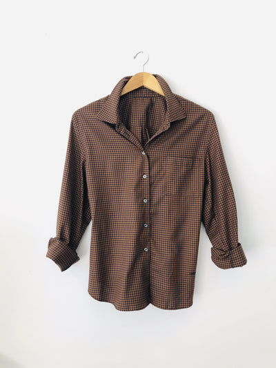 Essential Gingham Blouse S-XL