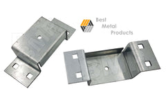 TRAILER POCKETS BOLT ON WITH LIP 11ga ZINC PLATE STEEL 1000106