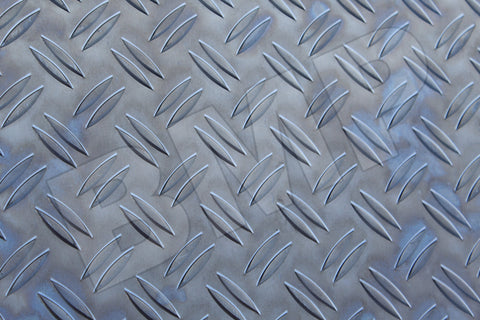 "ALUMINIUM DIAMOND PLATE 303-H22 .063"" x 12"" x 24"" - SECOND CHOISE QUALITY"