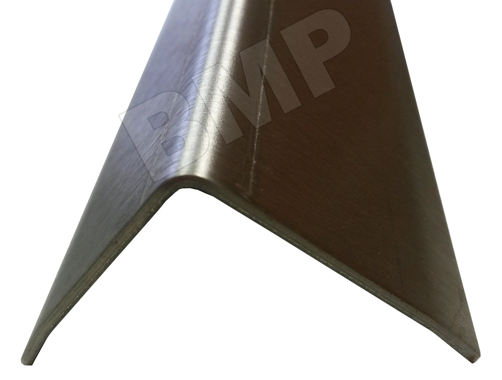 "304 STAINLESS STEEL CORNER GUARD ANGLE 3.5x3.5x48"" 0600109"