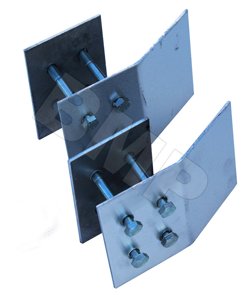 ALUMINUM LOADING RAMP END KIT 0100103