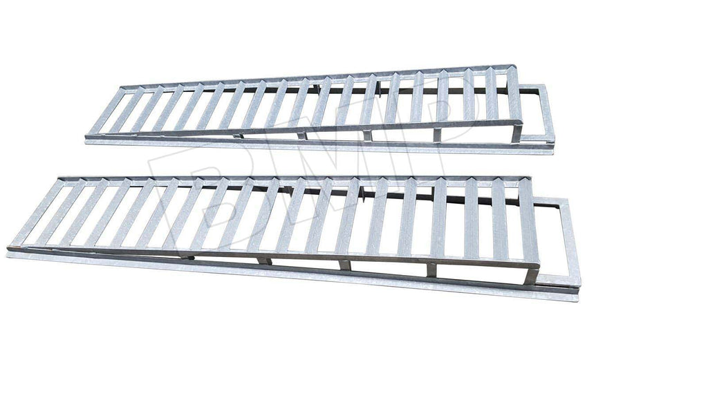 HEAVY DUTY RACE CAR AUTO VEHICLE RAMPS ENLOSED TRAILER EXTENSION RAMPS- HOT DIPPED GALVANIZED 0100108