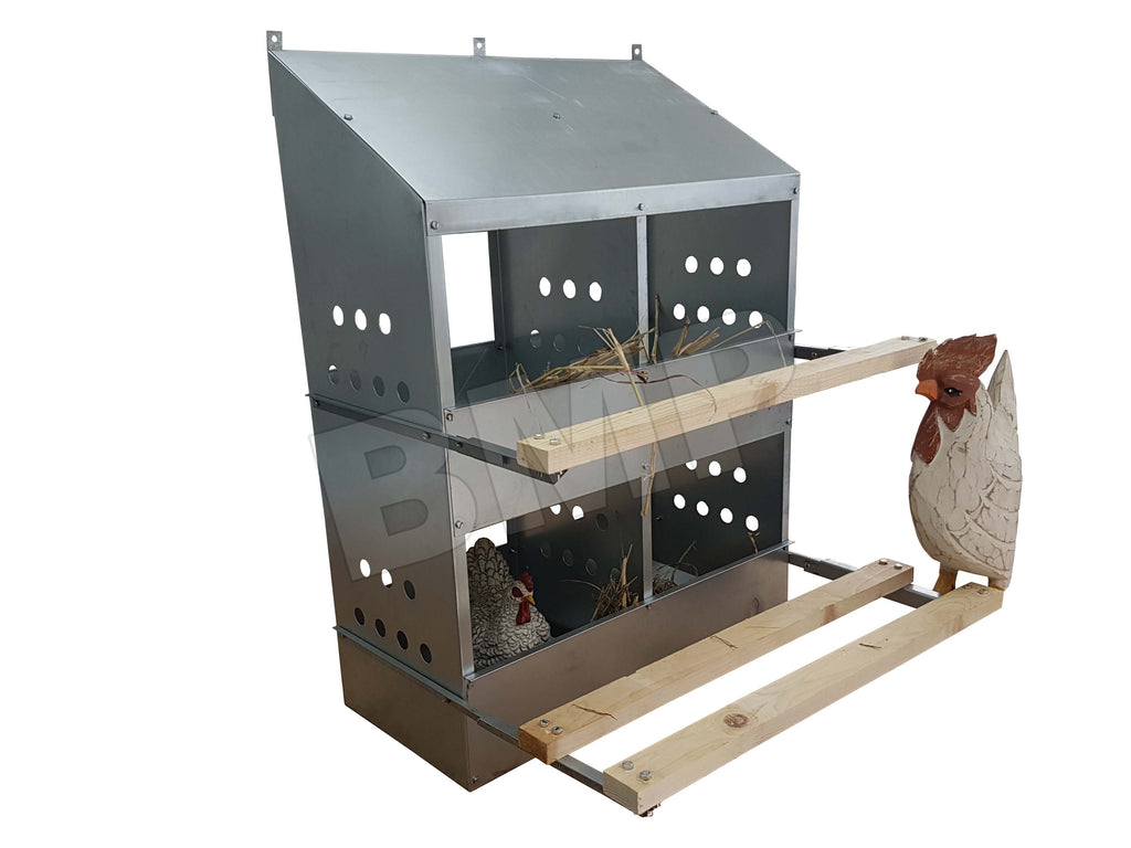 4 HOLE CHICKEN NESTIN BOX 0300111