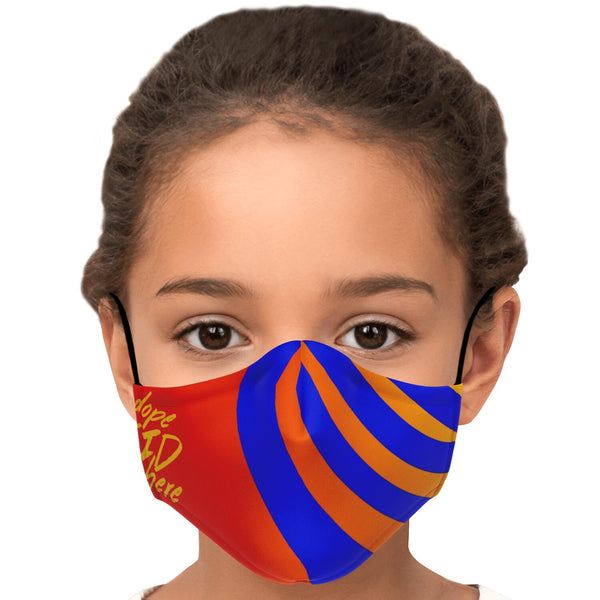 Dope kid Face Mask w/inside filter pocket and adjustable ear straps
