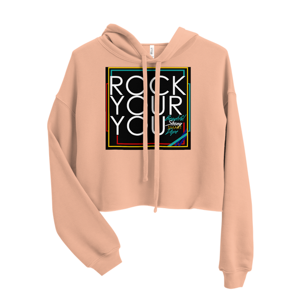 Rock Your You Crop Hoodie