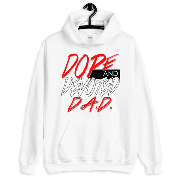 Dope and Devoted Dad Hoodie