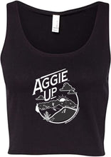 Load image into Gallery viewer, Women's Aggie Up Crop Tank Top
