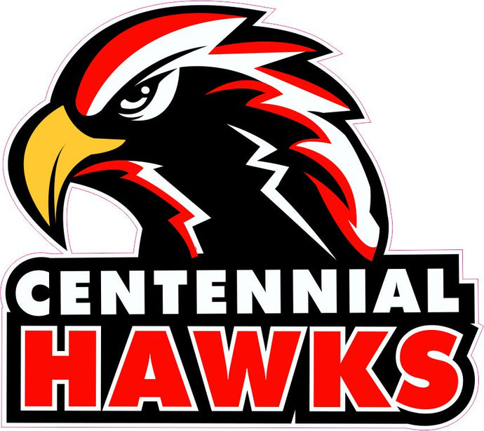 Centennial High School Decal