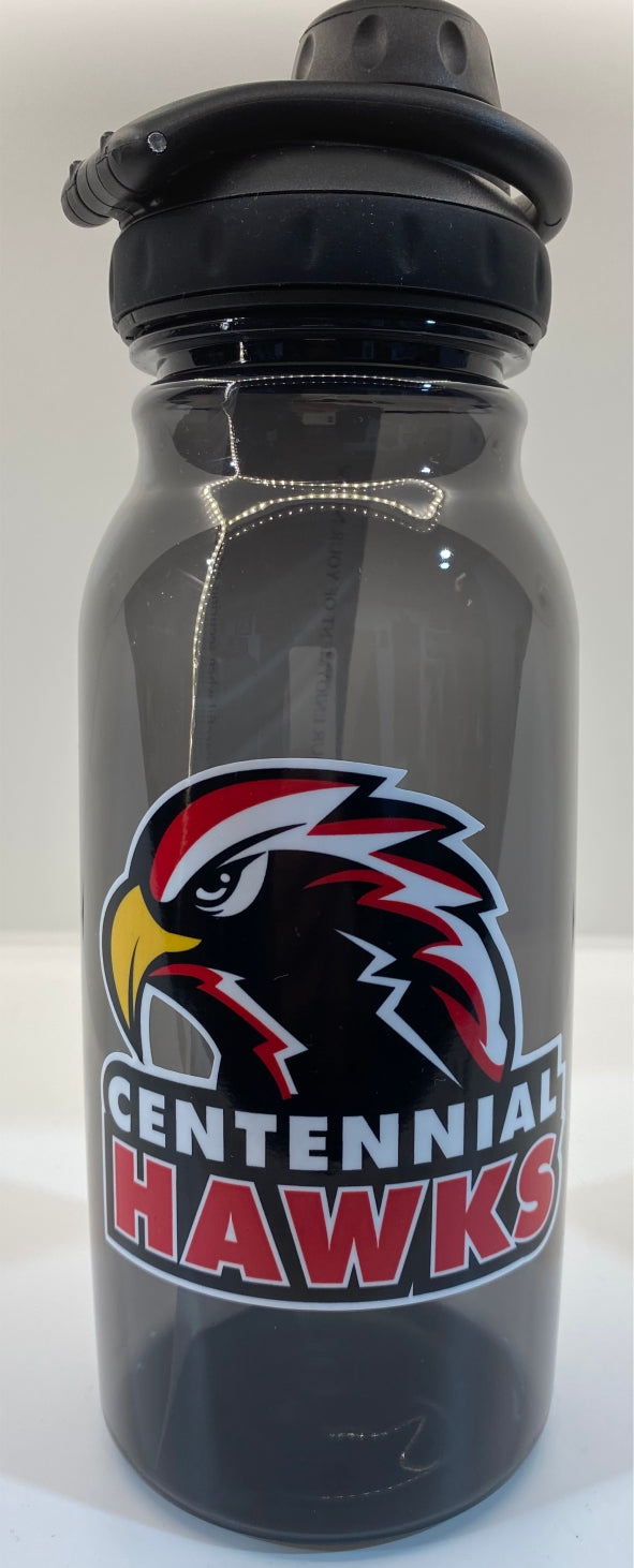 High School 33 oz Plastic Water Bottle