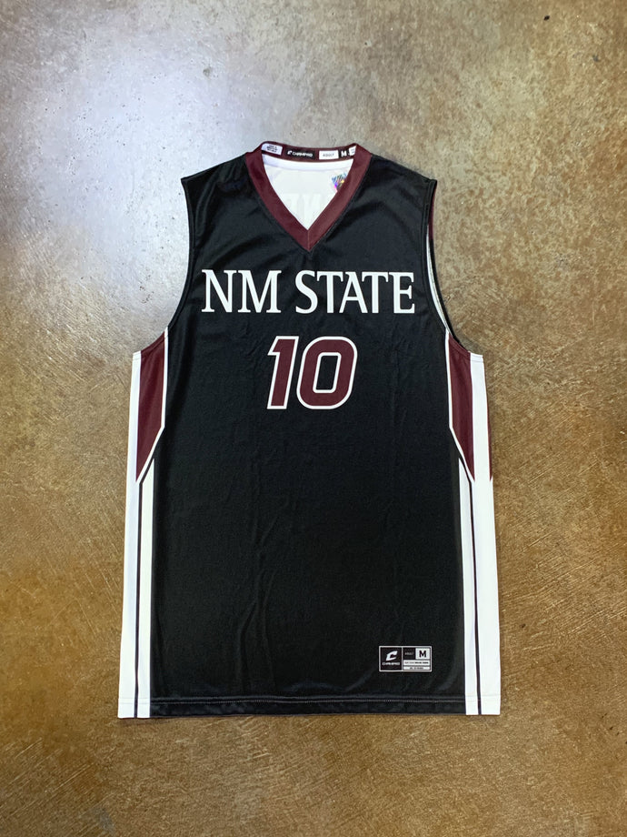 NM State Jemerrio Jones #10 Jersey