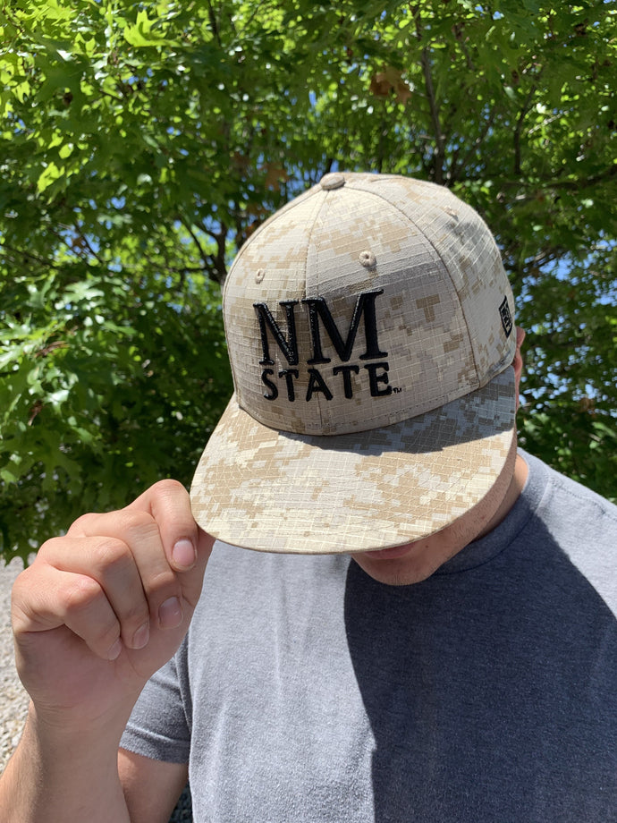 NM State Fitted Digital Camo Hat
