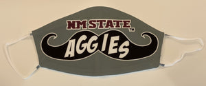 New Mexico State Sublimated Mask