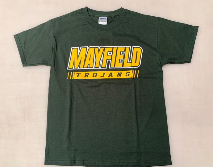 Youth Bold Mayfield Trojans Tee