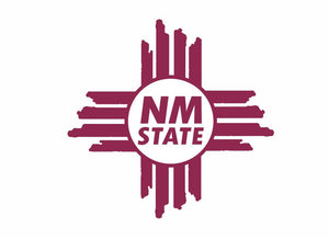 NM State Face Tattoo