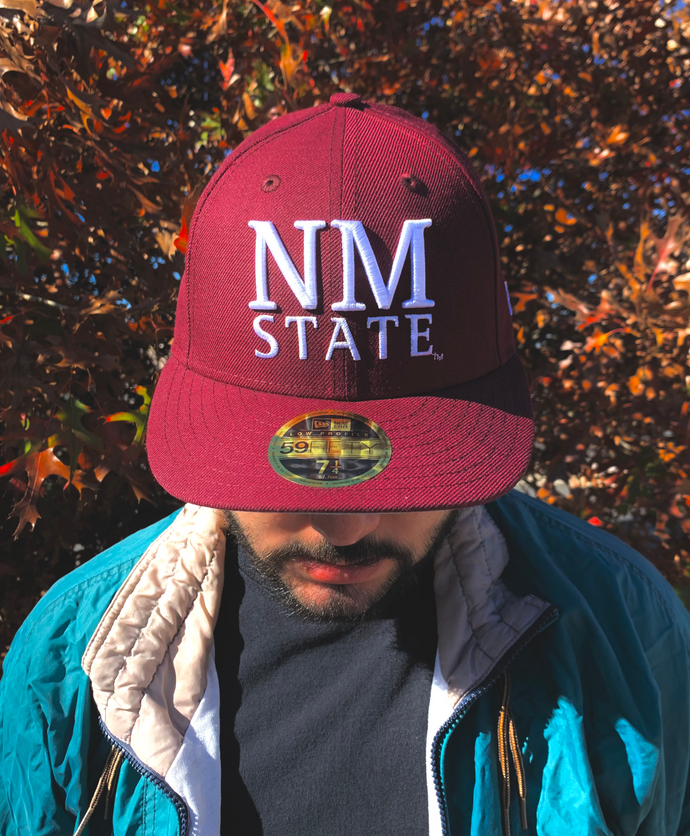 NM State Stacked 59Fifty New Era Cap