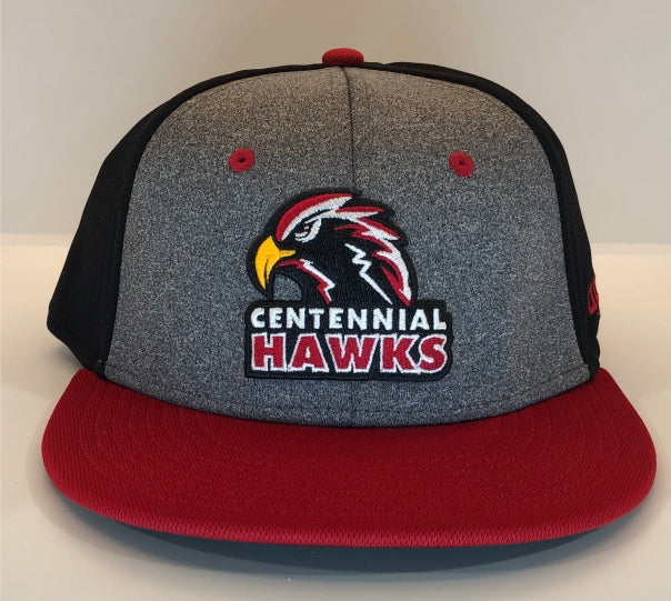 OC Sports Heather Centennial Hawks Fitted Hat