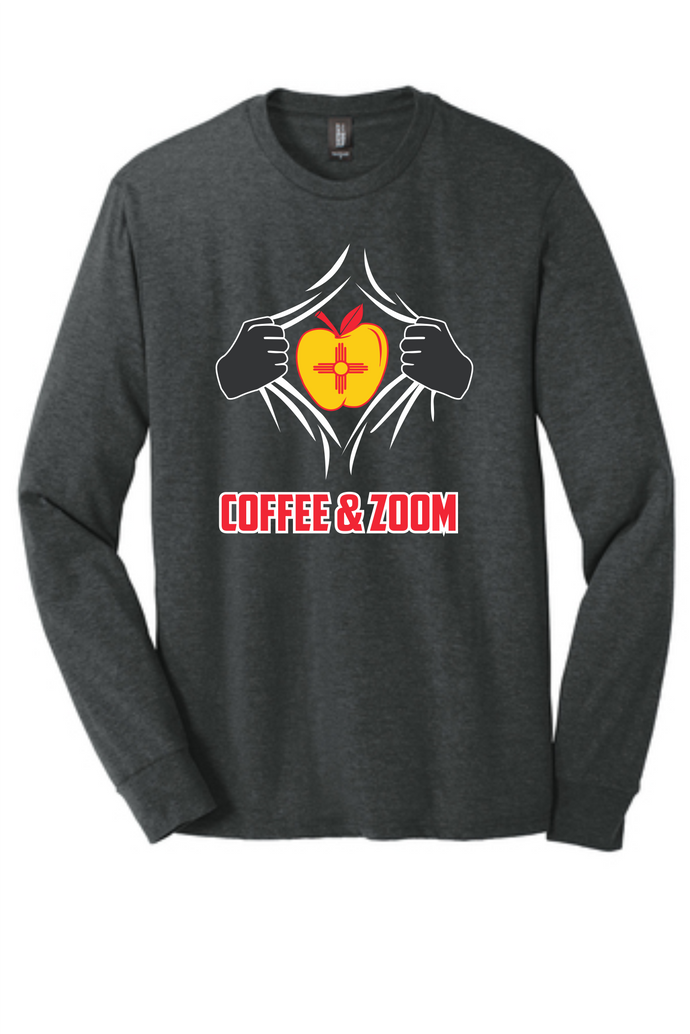 Super Teacher Tri-Blend Long-Sleeve Tee