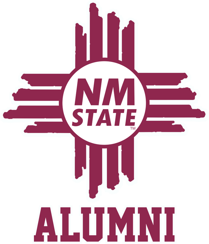 NM State Zia Alumni Decal