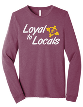 Load image into Gallery viewer, Loyal To Locals Long-Sleeve Tee
