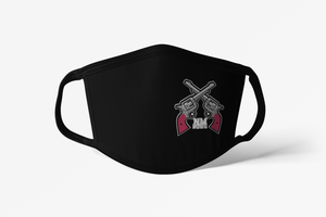 NM State Crossed Guns Fabric Face Masks