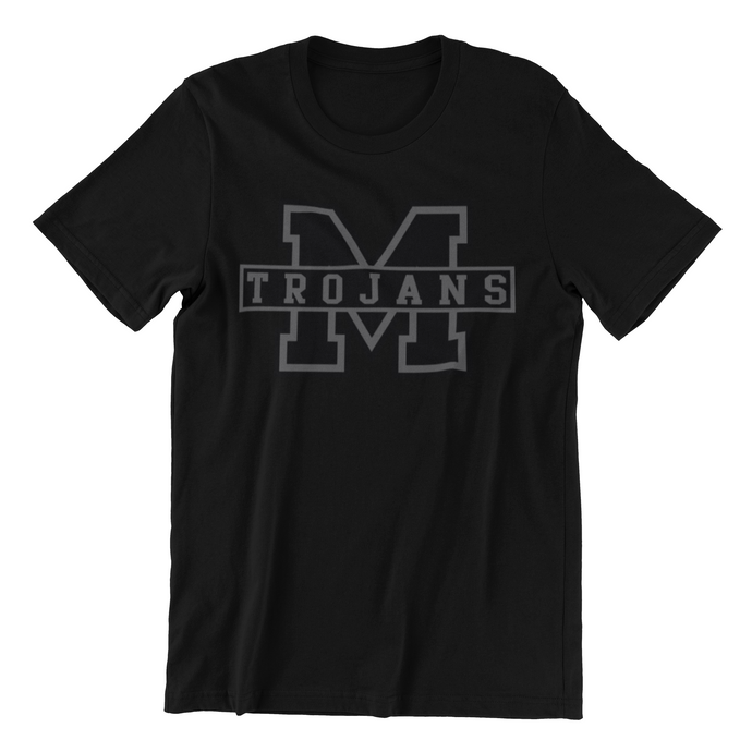 Youth MHS Black Out Tee