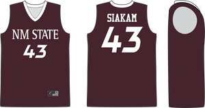 NM State Pascal Siakam #43 Jersey