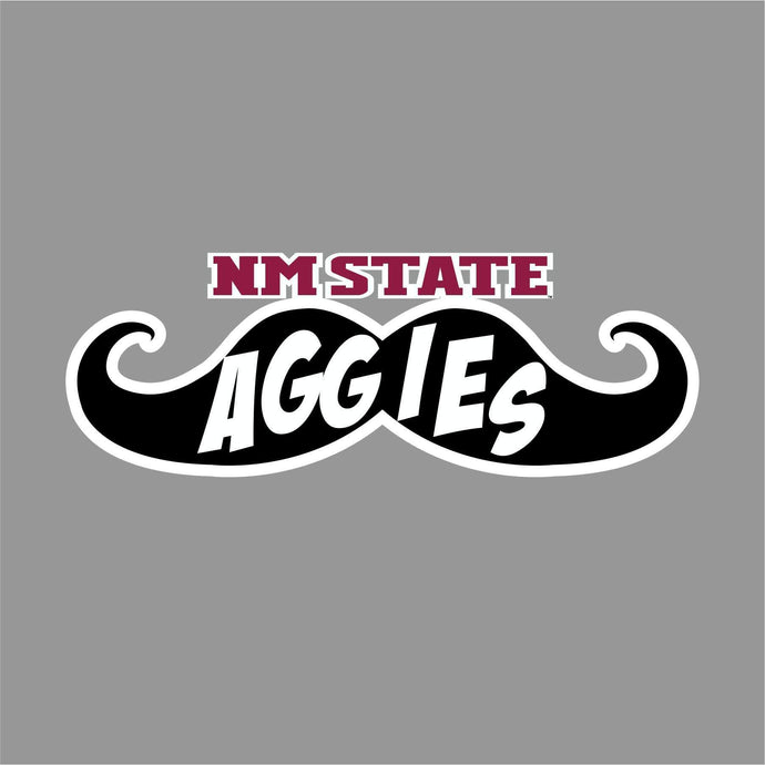 NM State Aggies 'Stache Decal