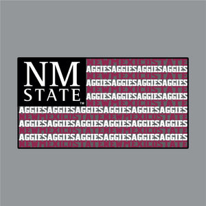 Aggie Flag Decal