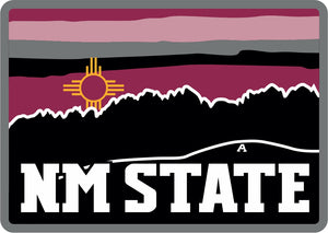"NM State ""A"" Zia Decal"