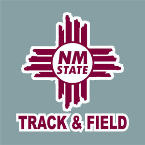 NM State Zia Track & Field Decal