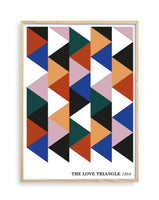 The Love Triangle 1954 Giclée Print (ORANGE)