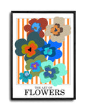 The Art Of Flowers Case Study: 001 Giclée Art Print (Orange Stripe)