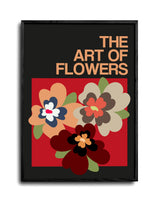 The Art Of Flowers Case Study: 006 Giclée Art Print (Grey)