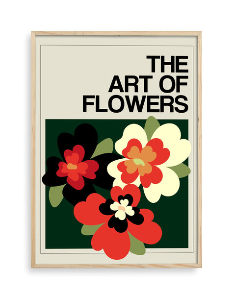 The Art Of Flowers Case Study: 006 Giclée Art Print (Biscuit)