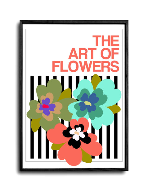 The Art Of Flowers Case Study: 006 Giclée Art Print (Stripe)