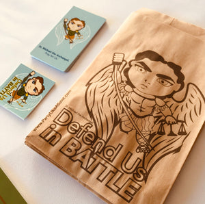 St. Michael the Archangel Party Favor Bag Sets