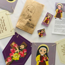 Load image into Gallery viewer, St. Thérèse of Lisieux party decorations