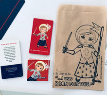 Load image into Gallery viewer, St. Joan of Arc Party Favor Bag Sets